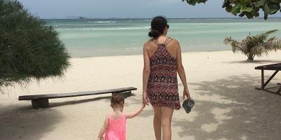 Vegan Family Ventures Srithanu Beach